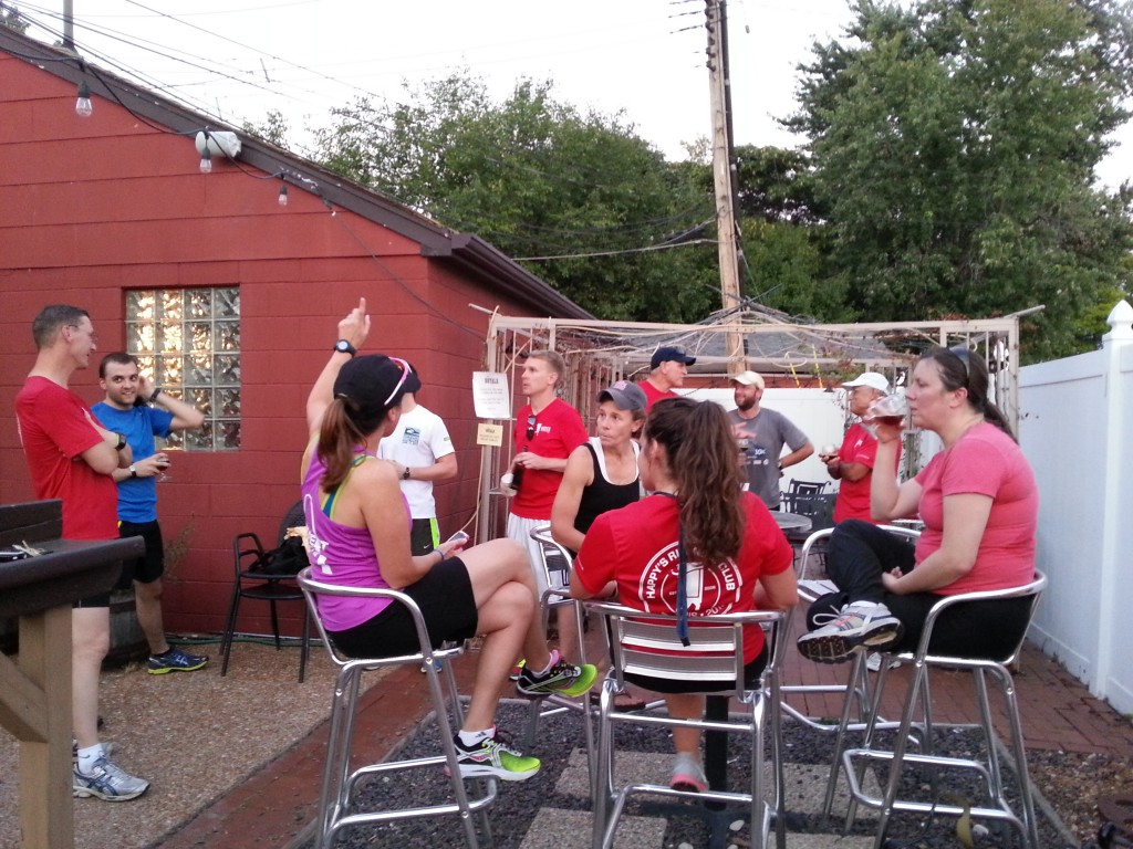 Late Summer at Happy's Running Club STL